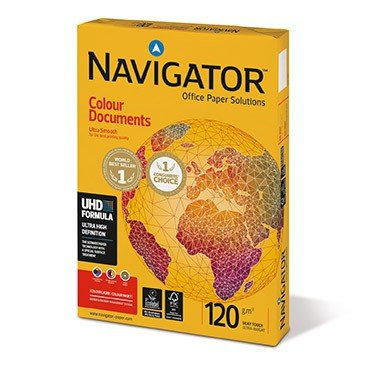 Druckerpapier A4 & A3 - Navigator Colour Documents 120g