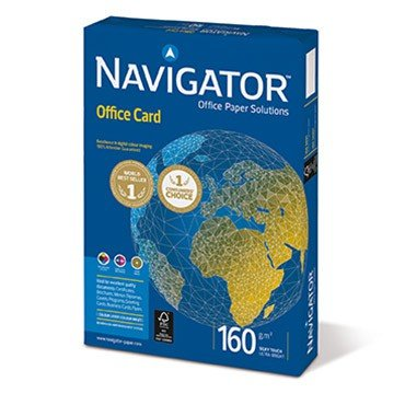 Papier DIN A6 - Navigator Office Card - 160g/m²