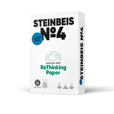 Recyclingpapier A4 & A3 - Steinbeis Evolution White 80g